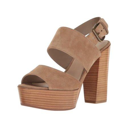 Aldo Womens Maximoa Leather Peep Toe Special Occasion Slingback Sandals
