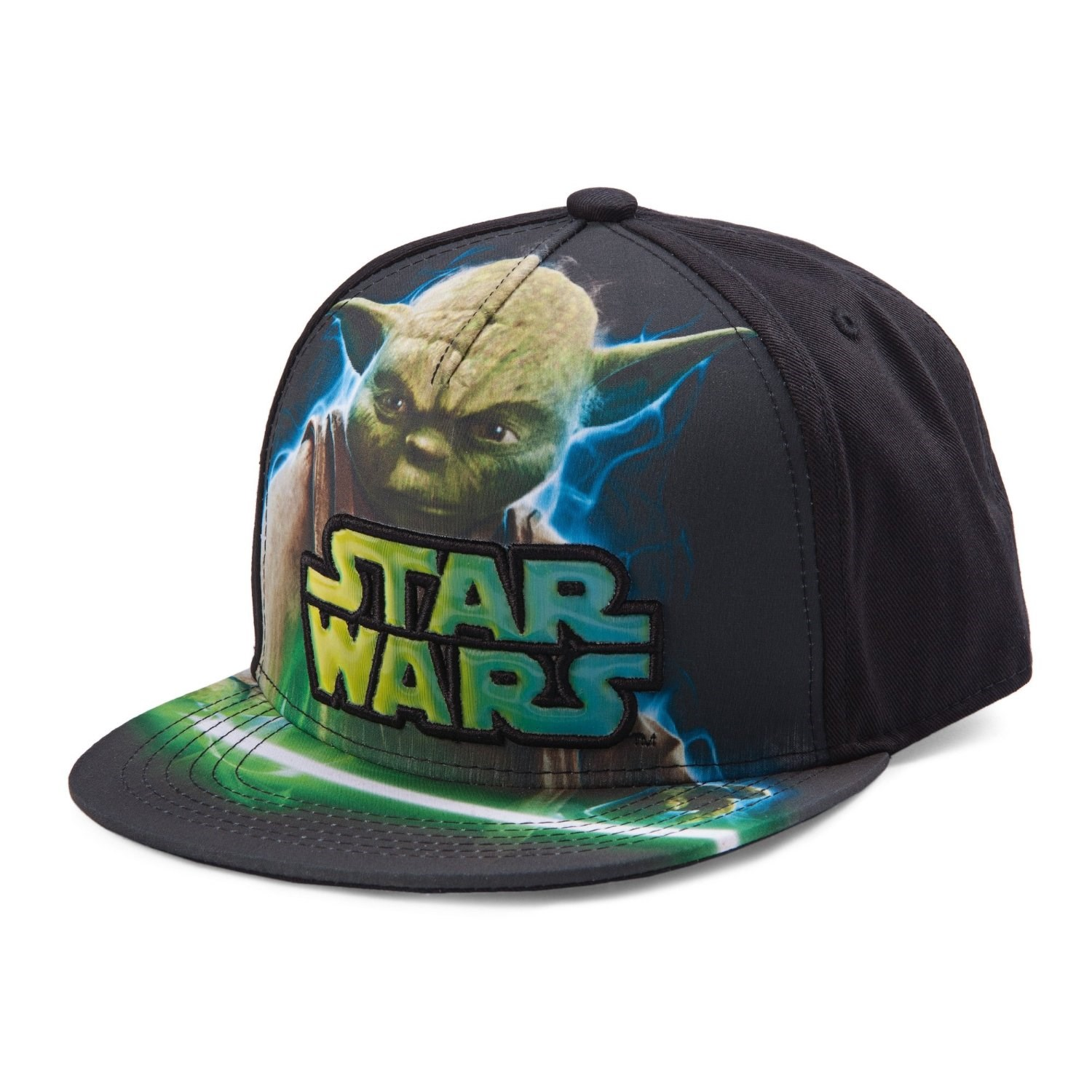 Star Wars Yoda Boys Snapback Hat