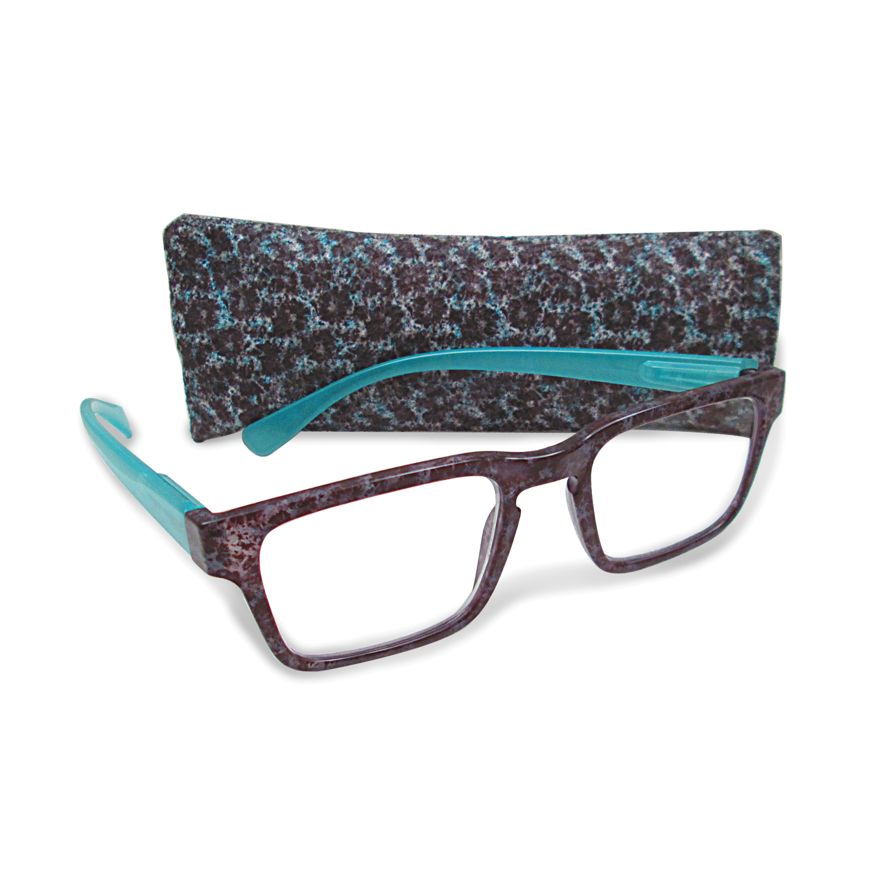 Teal +1.75 Magnification Reading Glasses