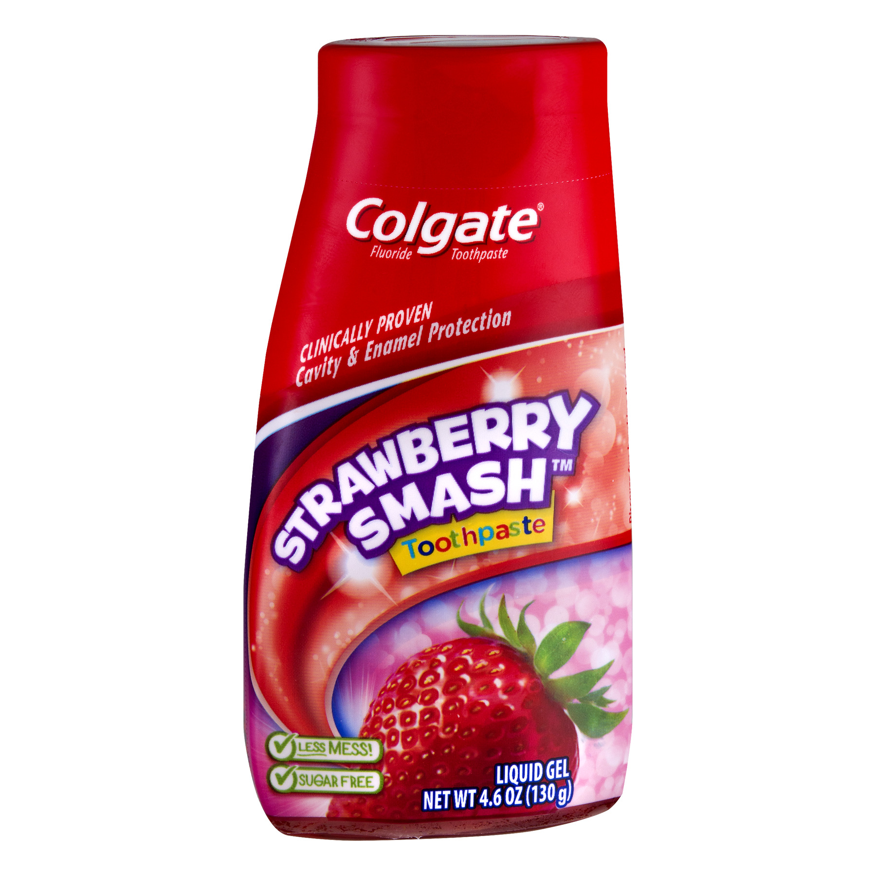 Colgate Kids 2-in-1 Toothpaste and Mouthwash, Strawberry - 4.6 oz