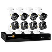 Defender HD 1080p 8-Channel 1TB DVR Security System with 8 Bullet Cameras