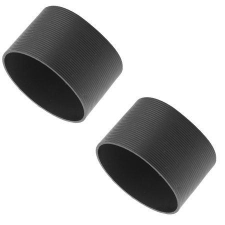 - Home Silicone Bottle Tea Cup Heat Resistant Sleeve Cover Black 6.5cm Dia 2pcs