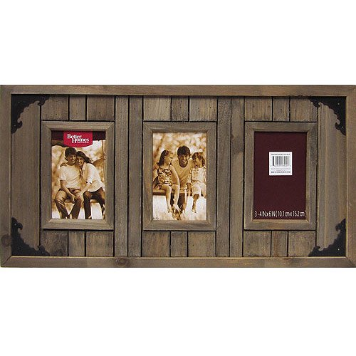 Better Homes And Gardens 3 Opening Picture Driftwood Plank Collage