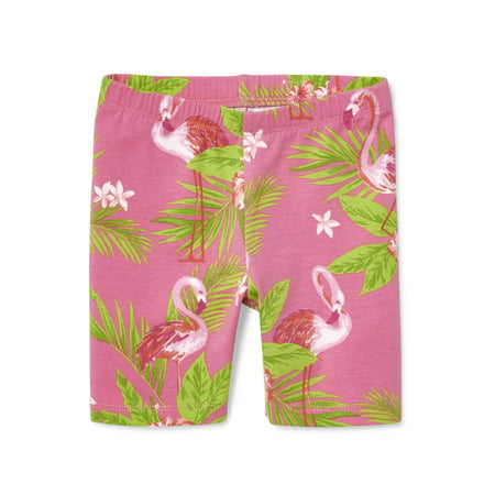 The Children's Place Printed Bike Shorts (Baby Girls & Toddler
