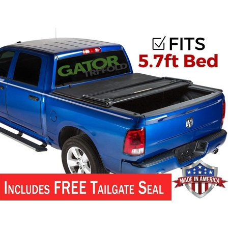 Gator ETX Tri-Fold (fits) 2009-2018 Dodge Ram 5.7 FT Bed No RamBox Only Tonneau Truck Bed Cover Made in the USA 59201