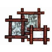 Sunshine Trading ST-15-5 Handmade Wood Photo Frame - 3.5 x 5 Inch