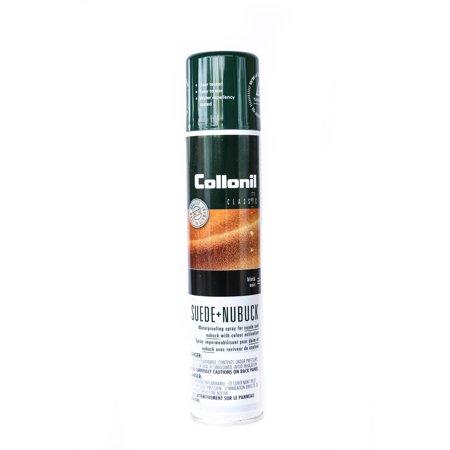 Collonil Nubuck + Velours/Suede Waterproof Protector Repellent Spray, 200 ml (Suede Black Paint)
