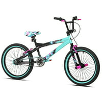 "Kent 20"" Tempest Girl's Bike, Black/Aqua"