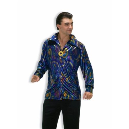 Costumes For All Occasions FM61780XL Extra Large Dynomite Dude Shirt - image 1 de 1