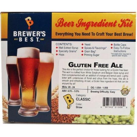 Brewer's Best Gluten Free Ale Beer Ingredient Kit