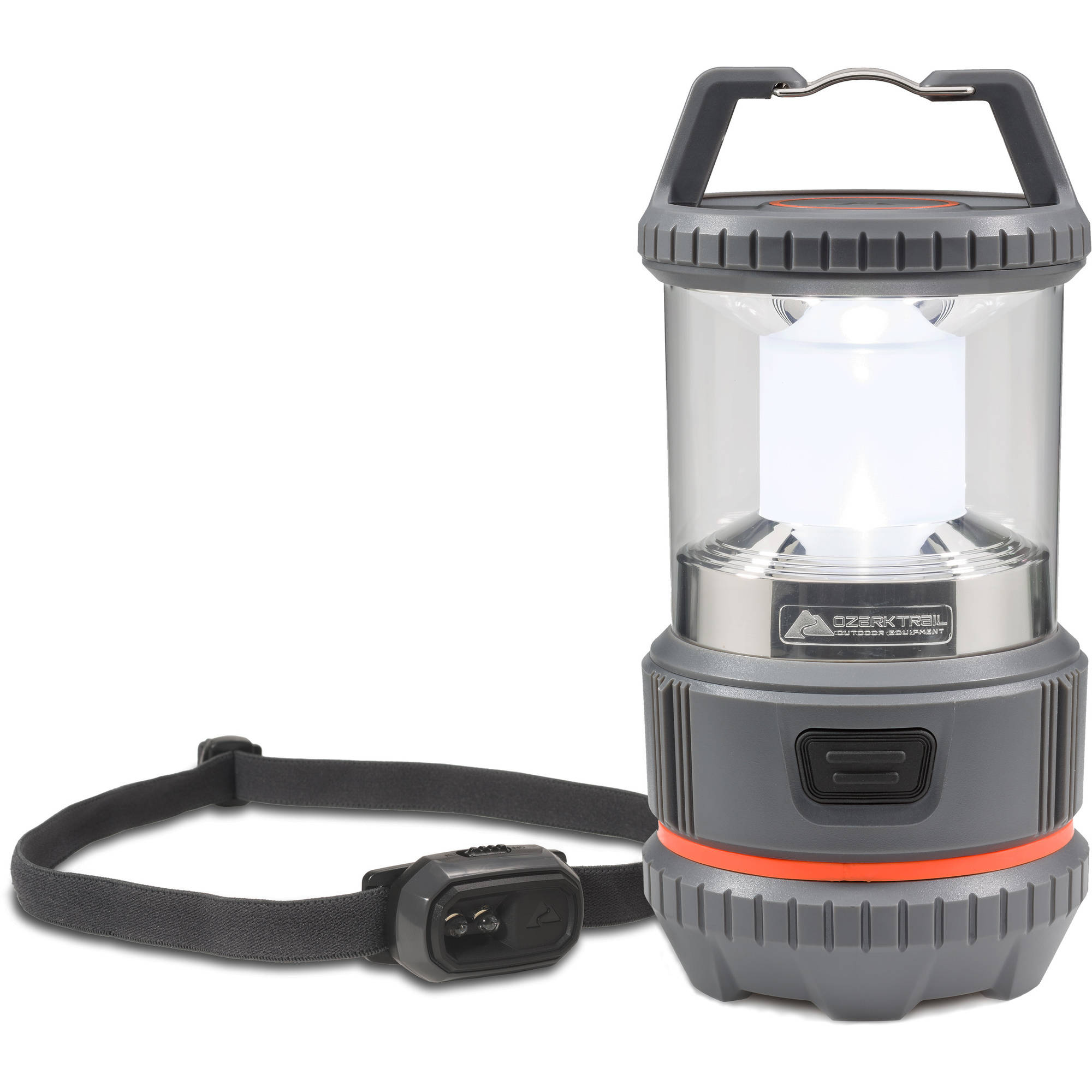 Ozark Trail 20-Lumen Mini Headlamp and 300-Lumen Lantern Combo Pack