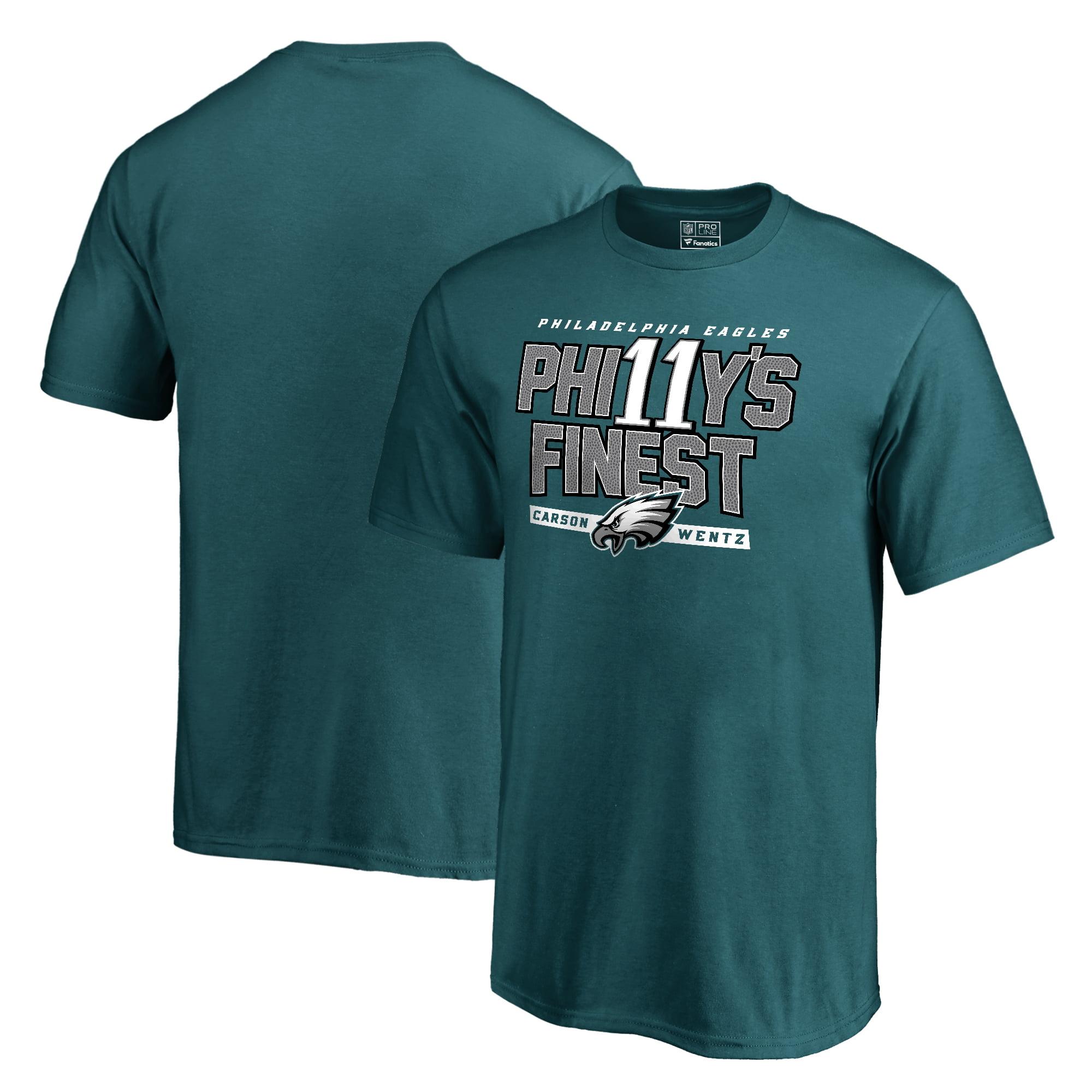 Carson Wentz Philadelphia Eagles Youth NFL Pro Line Philly's Finest T-Shirt - Green