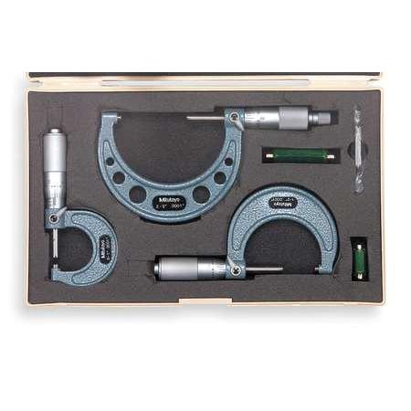Mitutoyo Micrometer Set - Mitutoyo Micrometer Set, 103-922