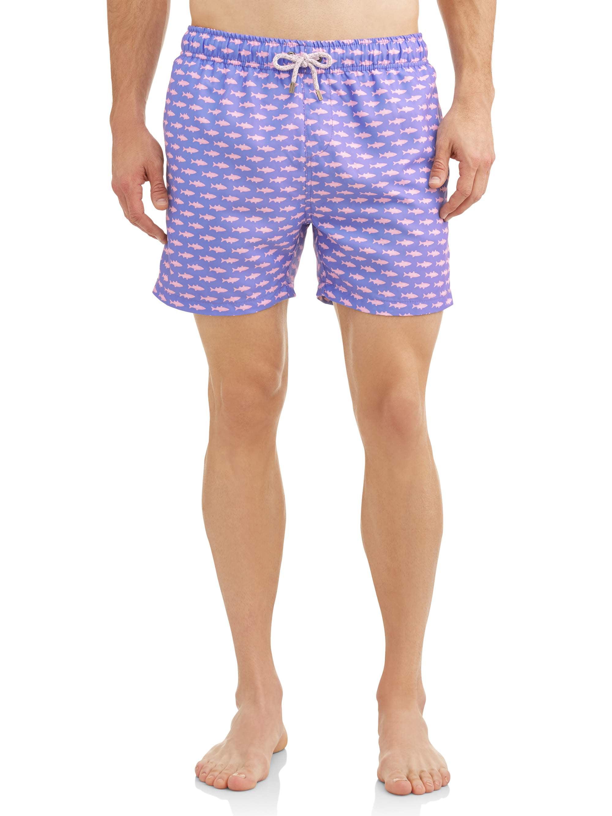 61b7b9d5b0 Endless Summer - Endless Summer Men's Printed Volley 5.5 Inch Swim Shorts.  Up to size 2XL - Walmart.com