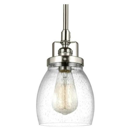 Sea Gull Lighting Glass Diffuser (Sea Gull Lighting Belton 6114501-962 Mini Pendant Light )