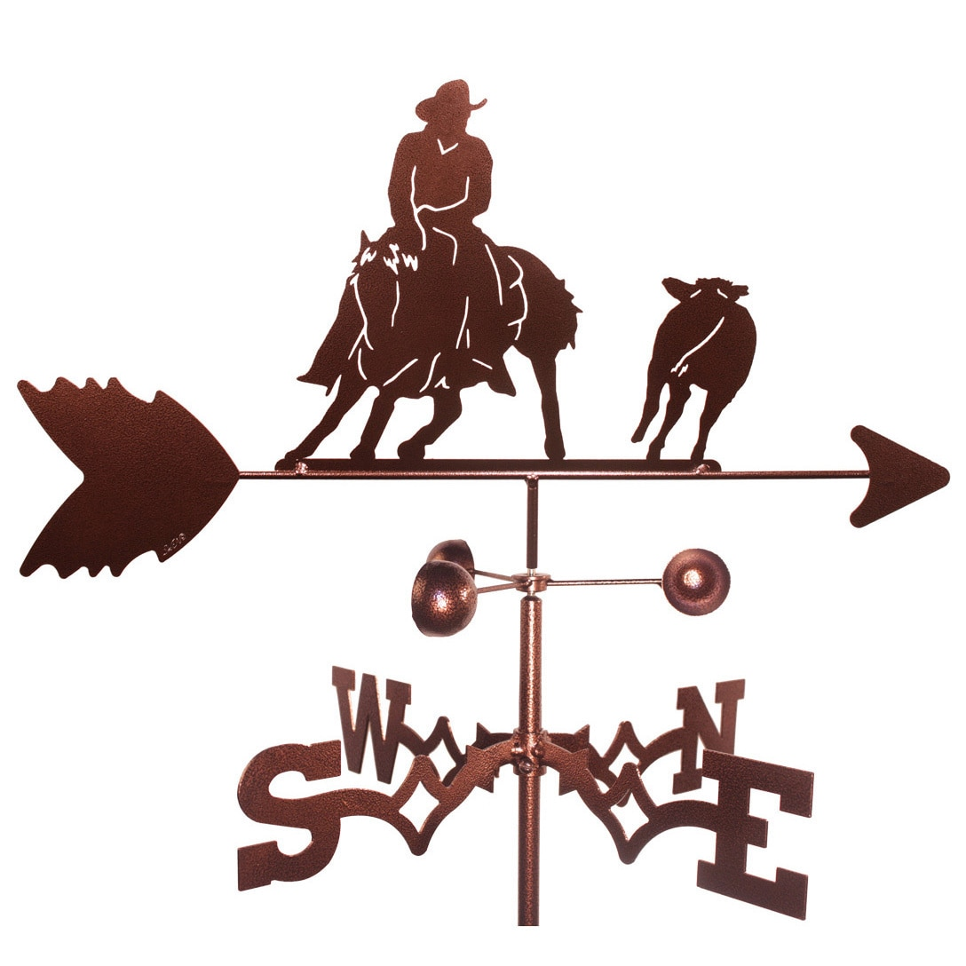SWEN Products Cutting Horse Weathervane by Overstock