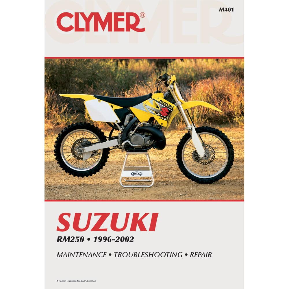 clymer suzuki rm250 1996 2002 m401 walmart com rh walmart com suzuki rm 250 94 manual 89 RM250 L