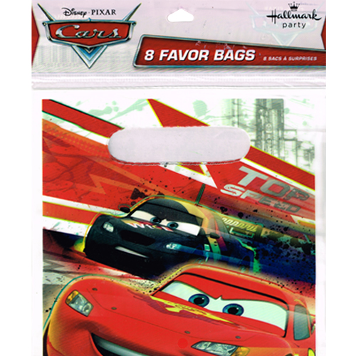 Cars 'High Velocity' Favor Bags (8ct)