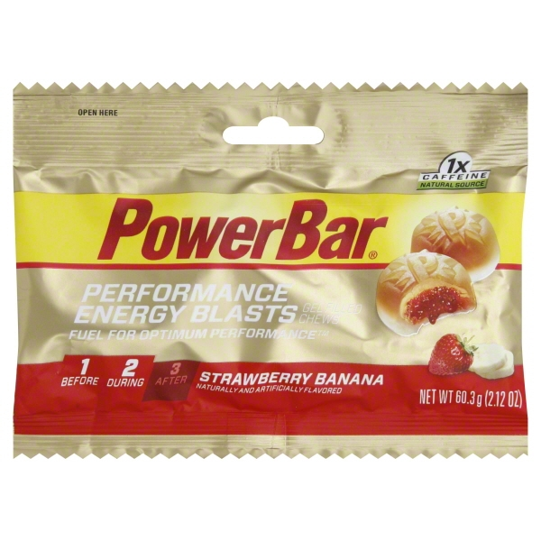 PowerBar PowerBar  Performance Energy Blasts, 2.12 oz
