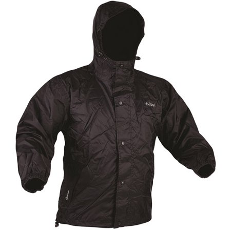 Onyx Outdoor Packable Nylon Rain Jacket, Black, Xlarge - Walmart.com
