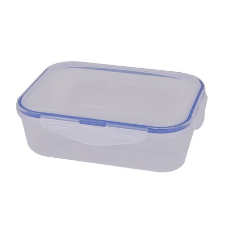 Nut Holder (Plastic Rectangle Food Peanut Nut Sugar Holder Storage Container Box Case 1100ml)