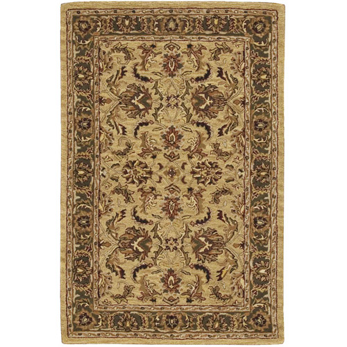 Nourison India House Collection Area Rug, Gold