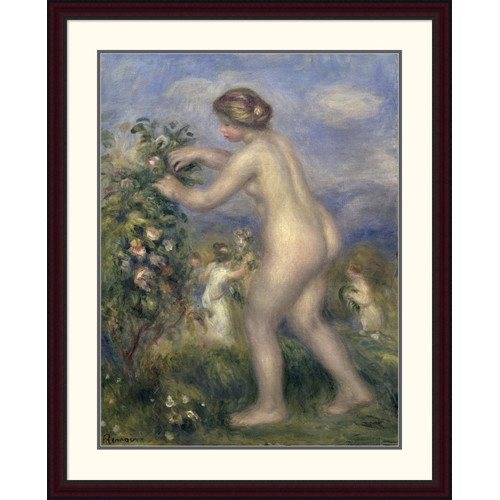 flowers nude Young