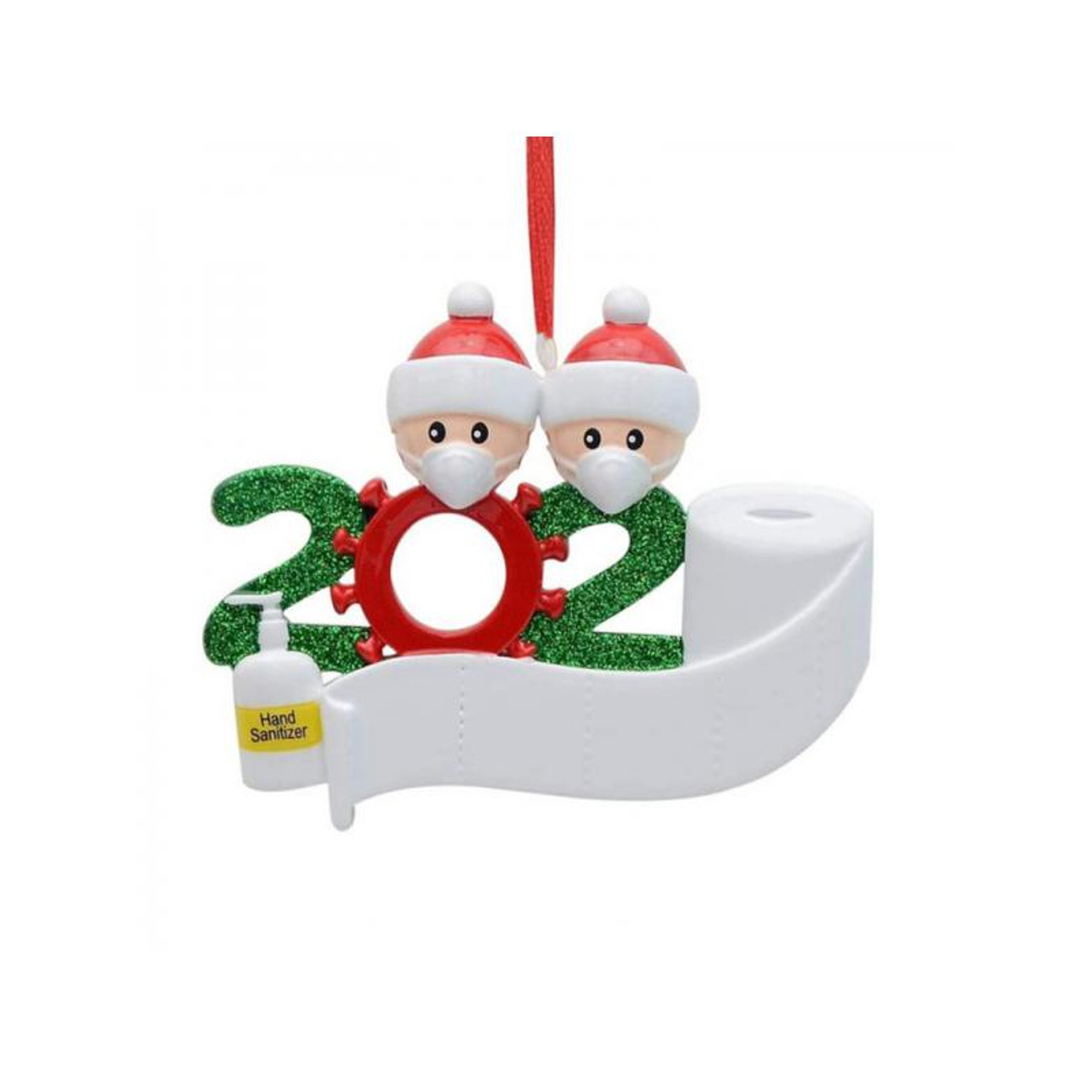 2020 Quarantine Stayed At Home Family Of 4 Personalized Tree Christmas Ornament Walmart Canada