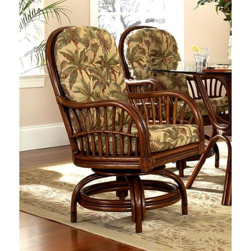 Amarillo Rattan Game Chair in Urban Mahogany (641)