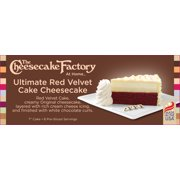 The Cheesecake Factory at Home - Ultimate Red Velvet Cake Cheesecake Image 3 of 4