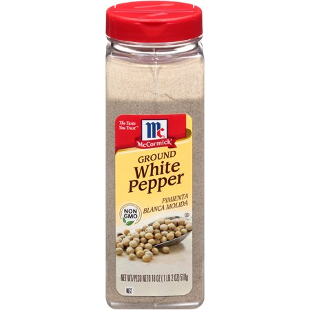 McCormick Ground White Pepper, 18 oz
