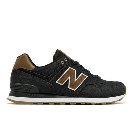 big sale 4f9f0 cd7ca New Balance ML574TXA: 574 Black Brown Mens Lifestyle Sneaker (10 D(M) US  Men, Black Brown)