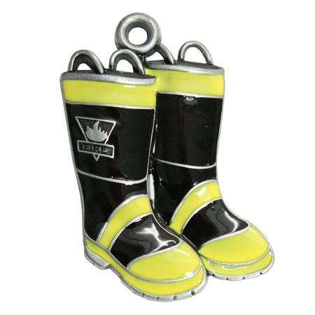 Gloria Duchin Fire Fighter Boots Ornament
