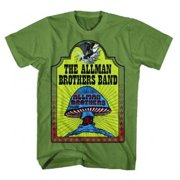 FEA FEA-AM178-S Allman Brothers Hell Yeah T-Shirt - Military Green - Small