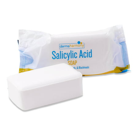 DermaHarmony 2% Salicylic Acid Bar Soap for the treatment of Acne, Blackheads & Whiteheads - 4