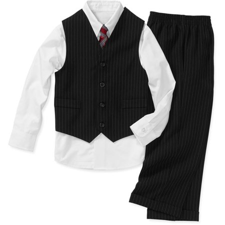 62c500156 George - Boys  4-Piece Shirt