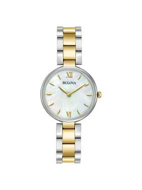 Bulova Factory Refurbished Women's Dress Two-Tone Stainless Steel Bracelet Watch
