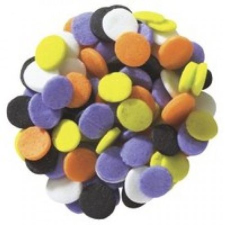 Halloween Trick Or Treat Quins Confetti 6 oz. Sprinkles Edible Cookie Cake Cupcake - Halloween Treats With Pudding
