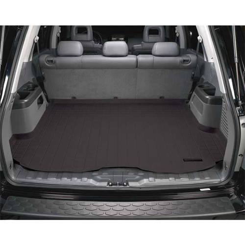 Weather Tech 40250 04-08 Maxima Cargo Liners, Black
