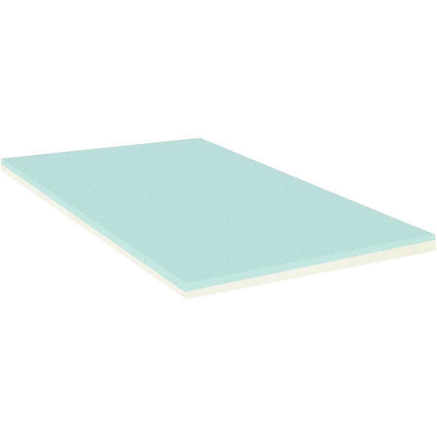 """Continental Sleep 2"""" High Density Gel Infused Foam"""