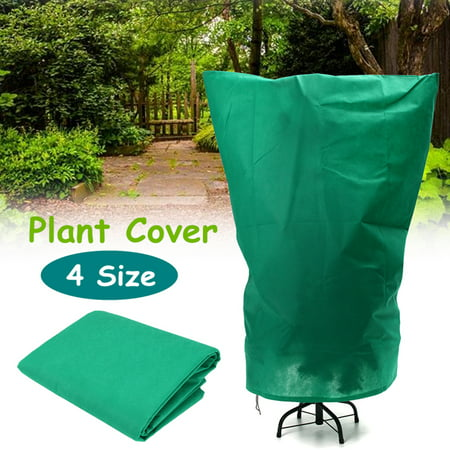 Clearance 4 Size Warm Worth Frost Blanket Tree Bush Protection Cage Shrub Jacket Winter Plant Cover Bug Net Insect Cover for Season Extension&Frostbite Protection - Frost Covered Trees