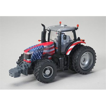Massey Ferguson 8730 Tractor with US Flag Graphics ...