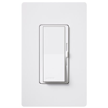 Lutron 3 Way Dimmer (Lutron DVWCL-153PH-WH White Single Pole Or 3 Way CFL/LED Dimmer With Wall)