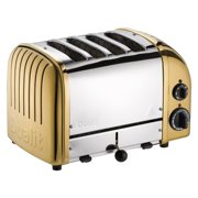 Dualit 4 Slice NewGen Toaster Brass