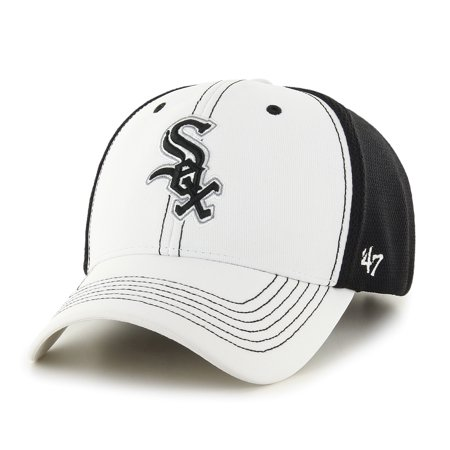 Chicago White Sox 47 Brand Mlb   Cooler Mvp   Structured Adjustable 2 Tone Hat