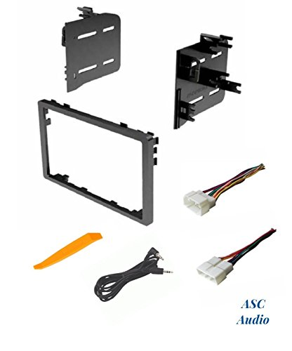 ASC Audio Car Stereo Dash Install Kit And Wire Harness For