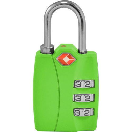 TraverGo 3 Digit Combination Lock, Black TR1120BK