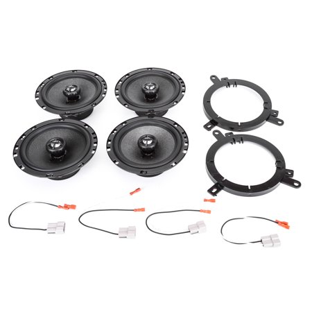 Skar Audio RPX Series Complete Speaker Upgrade Package - Fits 1998-2000 Dodge (Complete Parts Package)