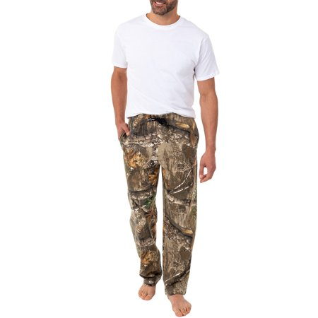 Mossy Oak and Realtree Men's Fleece Pants - Real Tree Stumps For Sale