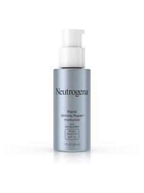 Neutrogena Rapid Wrinkle Repair Face & Neck Moisturizer SPF 30, 1 fl. oz